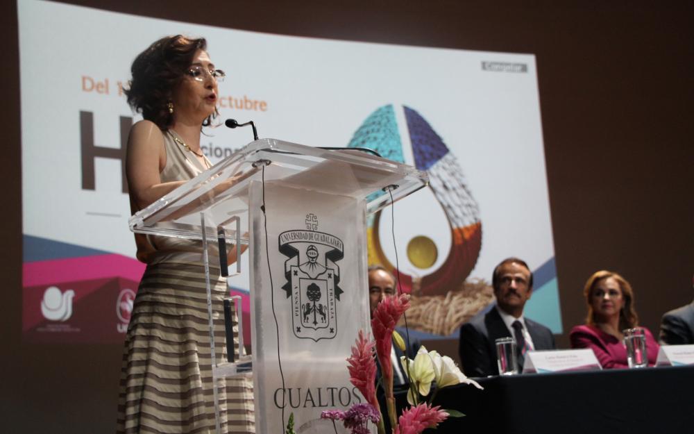 Rectora Dra. Mara Nadiezhda Robles Villaseñor